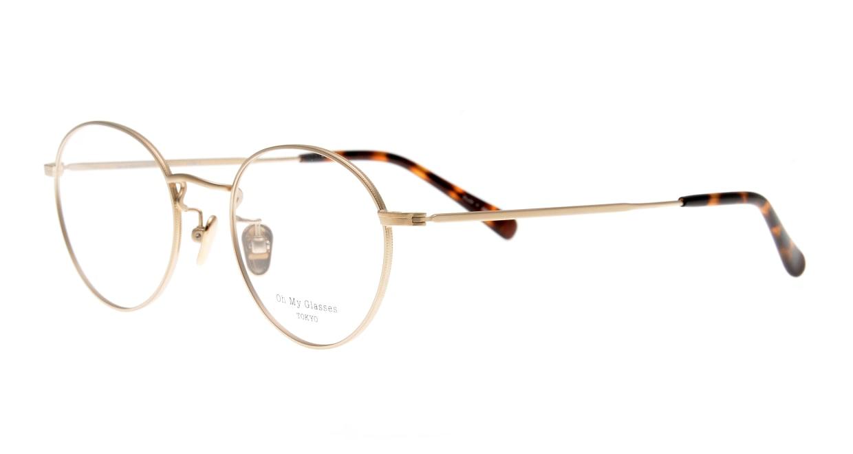 Oh My Glasses TOKYO George2 omg-110-GD-49 [メタル/鯖江産/丸メガネ/ゴールド]  1