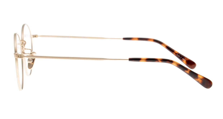 Oh My Glasses TOKYO George2 omg-110-GD-49 [メタル/鯖江産/丸メガネ/ゴールド]  2