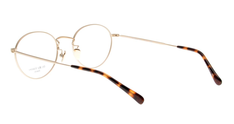 Oh My Glasses TOKYO George2 omg-110-GD-49 [メタル/鯖江産/丸メガネ/ゴールド]  3