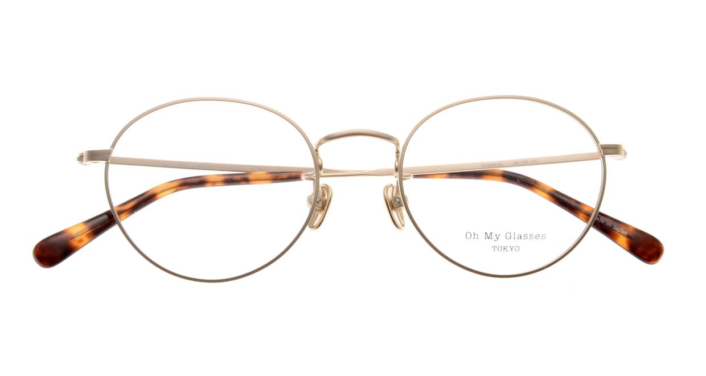 Oh My Glasses TOKYO George2 omg-110-GD-49 [メタル/鯖江産/丸メガネ/ゴールド]  4
