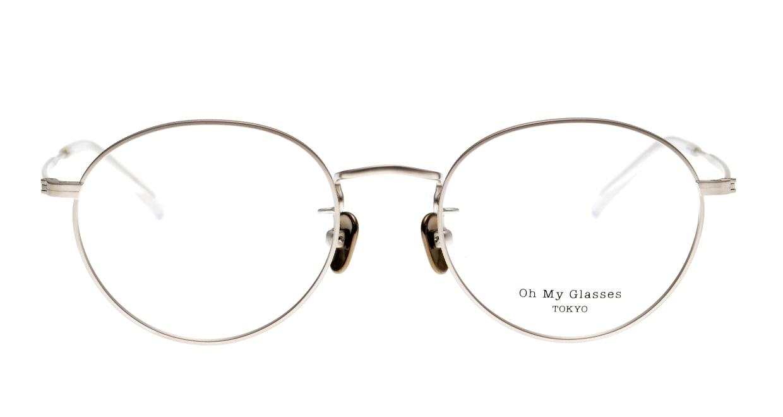 Oh My Glasses TOKYO George2 omg-110-SV-49 [メタル/鯖江産/丸メガネ/シルバー]