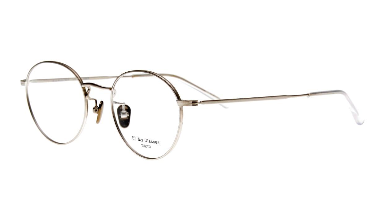 Oh My Glasses TOKYO George2 omg-110-SV-49 [メタル/鯖江産/丸メガネ/シルバー]  1