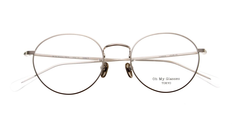 Oh My Glasses TOKYO George2 omg-110-SV-49 [メタル/鯖江産/丸メガネ/シルバー]  4
