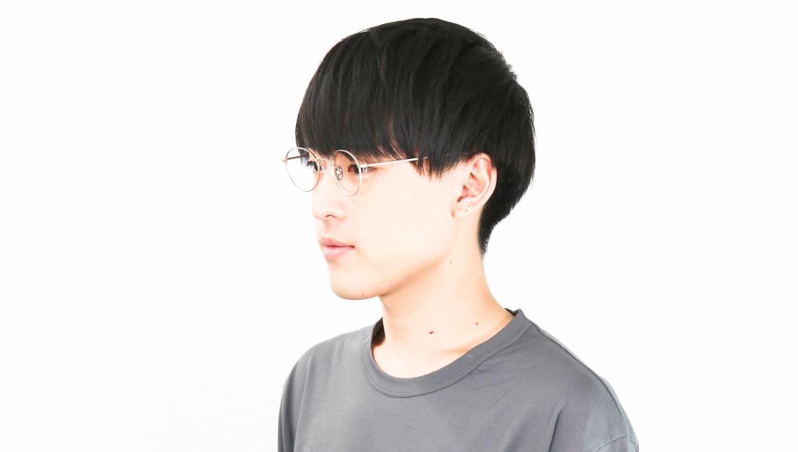 Oh My Glasses TOKYO George2 omg-110-SV-49 [メタル/鯖江産/丸メガネ/シルバー]  6
