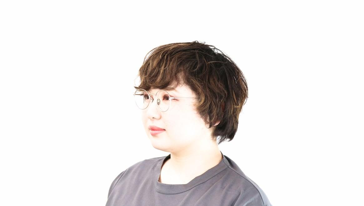 Oh My Glasses TOKYO George2 omg-110-SV-49 [メタル/鯖江産/丸メガネ/シルバー]  8