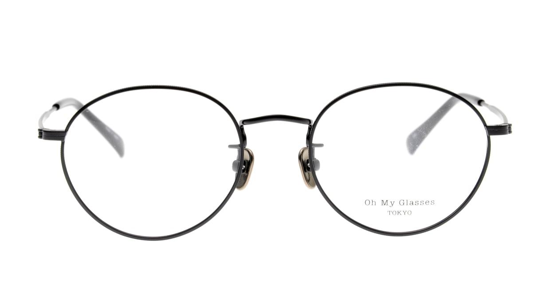 Oh My Glasses TOKYO George2 omg-110-MBK-49 [メタル/鯖江産/丸メガネ]