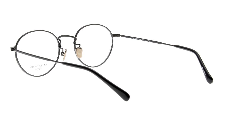 Oh My Glasses TOKYO George2 omg-110-MBK-49 [メタル/鯖江産/丸メガネ]  3