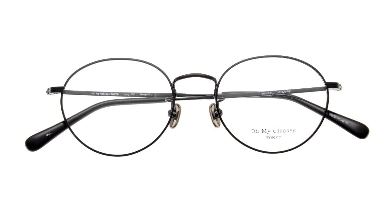 Oh My Glasses TOKYO George2 omg-110-MBK-49 [メタル/鯖江産/丸メガネ]  4