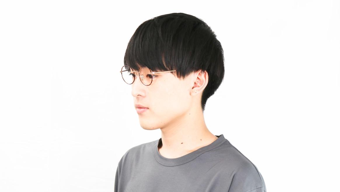 Oh My Glasses TOKYO Neal2 omg-111-DM-47 [メタル/鯖江産/丸メガネ/べっ甲柄]  6