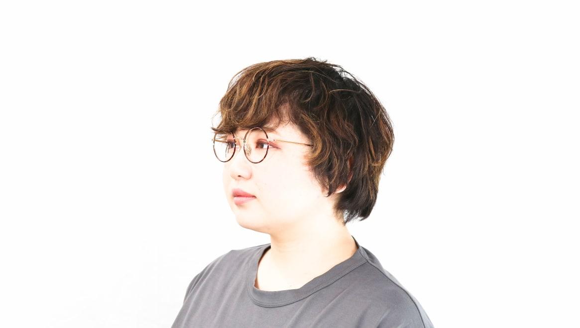 Oh My Glasses TOKYO Neal2 omg-111-DM-47 [メタル/鯖江産/丸メガネ/べっ甲柄]  8