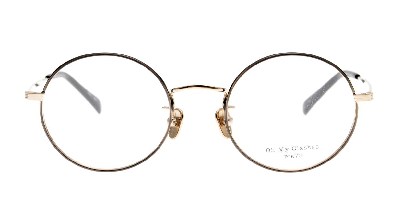 Oh My Glasses TOKYO Neal2 omg-111-BKG-47 [メタル/鯖江産/丸メガネ]