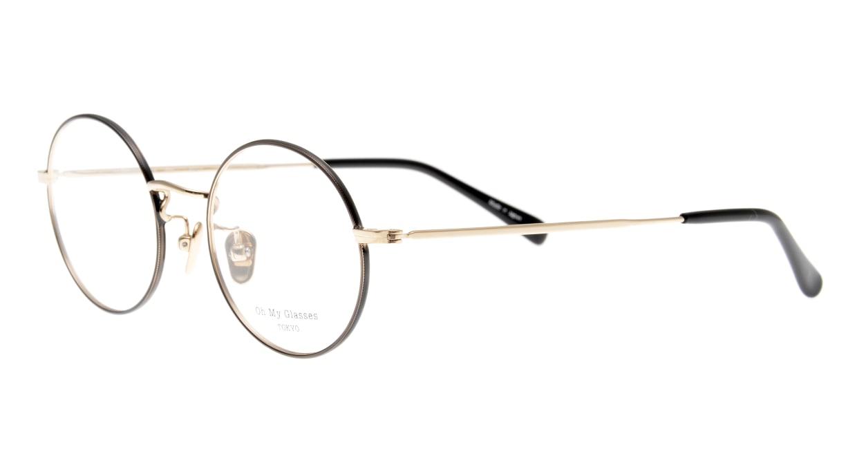 Oh My Glasses TOKYO Neal2 omg-111-BKG-47 [メタル/鯖江産/丸メガネ]  1