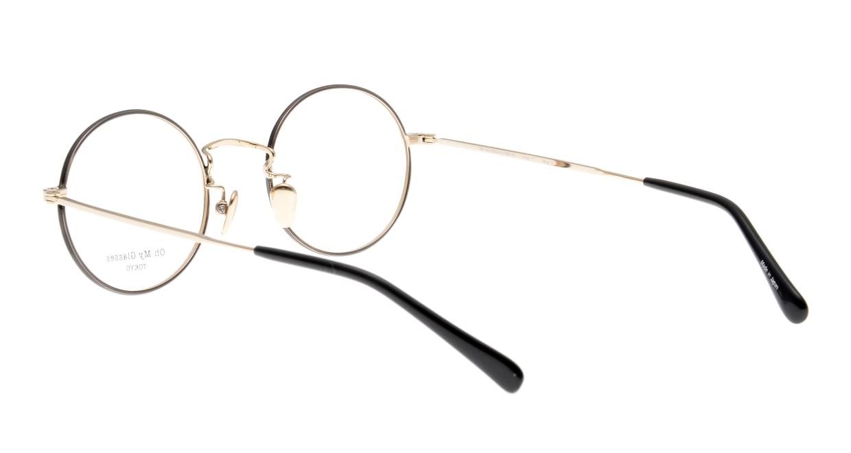 Oh My Glasses TOKYO Neal2 omg-111-BKG-47 [メタル/鯖江産/丸メガネ]  3