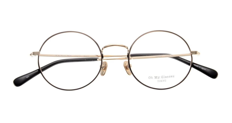 Oh My Glasses TOKYO Neal2 omg-111-BKG-47 [メタル/鯖江産/丸メガネ]  4