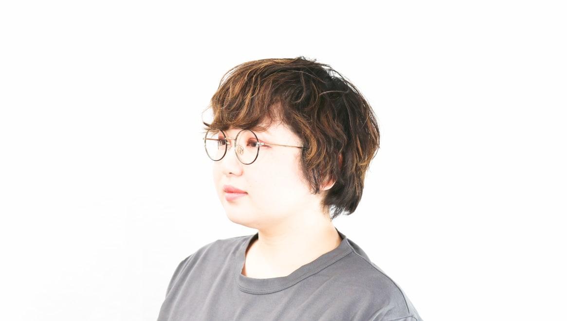 Oh My Glasses TOKYO Neal2 omg-111-BKG-47 [メタル/鯖江産/丸メガネ]  8