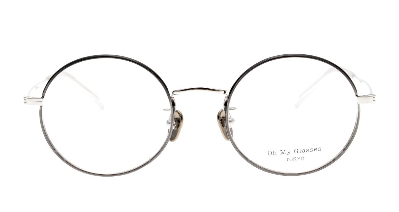 Oh My Glasses TOKYO Neal2 omg-111-BKS-47 [メタル/鯖江産/丸メガネ]
