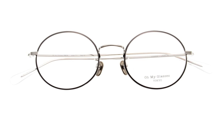 Oh My Glasses TOKYO Neal2 omg-111-BKS-47 [メタル/鯖江産/丸メガネ]  4