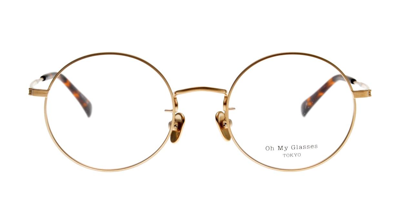 Oh My Glasses TOKYO Neal2 omg-111-GD-47 [メタル/鯖江産/丸メガネ/ゴールド]