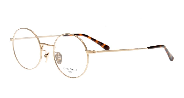 Oh My Glasses TOKYO Neal2 omg-111-GD-47 [メタル/鯖江産/丸メガネ/ゴールド]  1