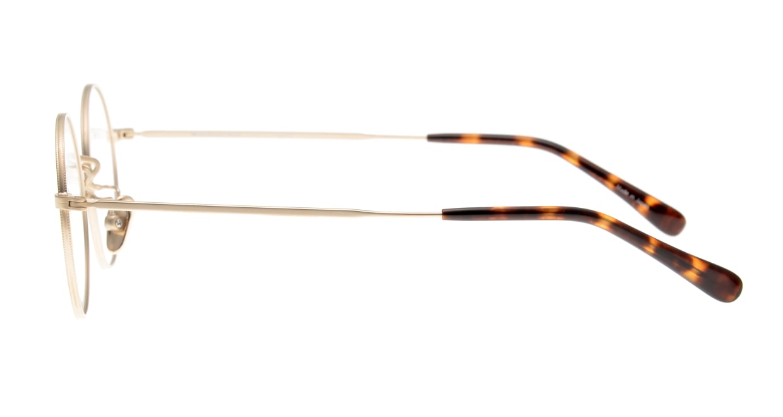 Oh My Glasses TOKYO Neal2 omg-111-GD-47 [メタル/鯖江産/丸メガネ/ゴールド]  2