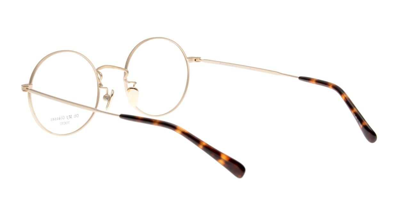 Oh My Glasses TOKYO Neal2 omg-111-GD-47 [メタル/鯖江産/丸メガネ/ゴールド]  3