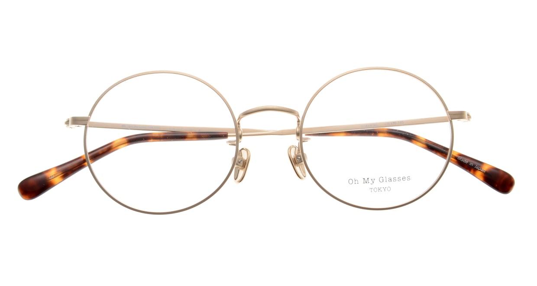 Oh My Glasses TOKYO Neal2 omg-111-GD-47 [メタル/鯖江産/丸メガネ/ゴールド]  4