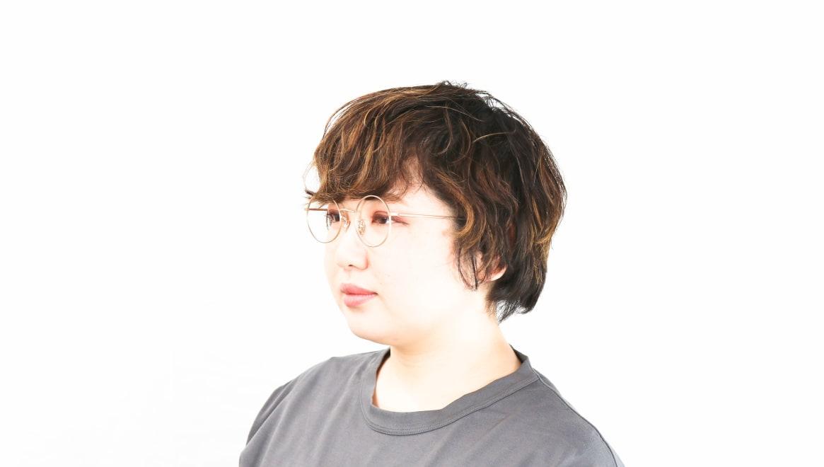 Oh My Glasses TOKYO Neal2 omg-111-GD-47 [メタル/鯖江産/丸メガネ/ゴールド]  8