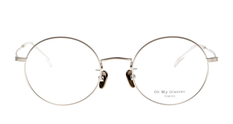 Oh My Glasses TOKYO Neal2 omg-111-SV-47 [メタル/鯖江産/丸メガネ/シルバー]