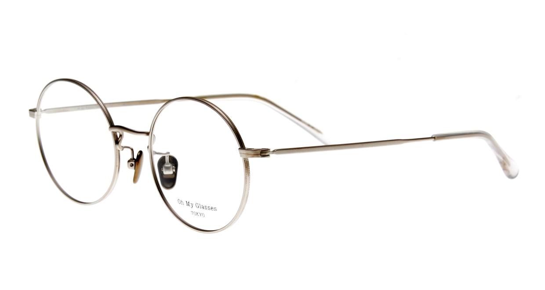 Oh My Glasses TOKYO Neal2 omg-111-SV-47 [メタル/鯖江産/丸メガネ/シルバー]  1