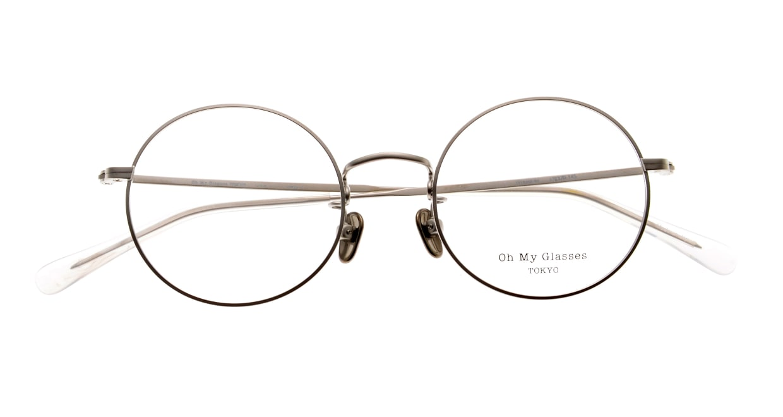 Oh My Glasses TOKYO Neal2 omg-111-SV-47 [メタル/鯖江産/丸メガネ/シルバー]  4