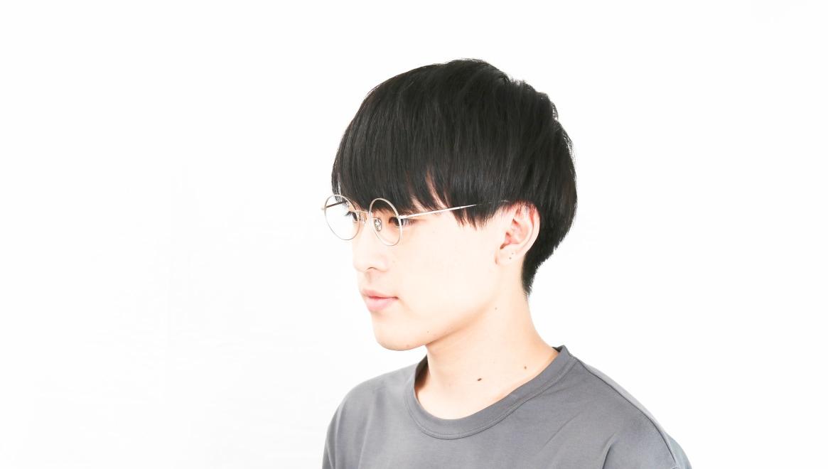Oh My Glasses TOKYO Neal2 omg-111-SV-47 [メタル/鯖江産/丸メガネ/シルバー]  6