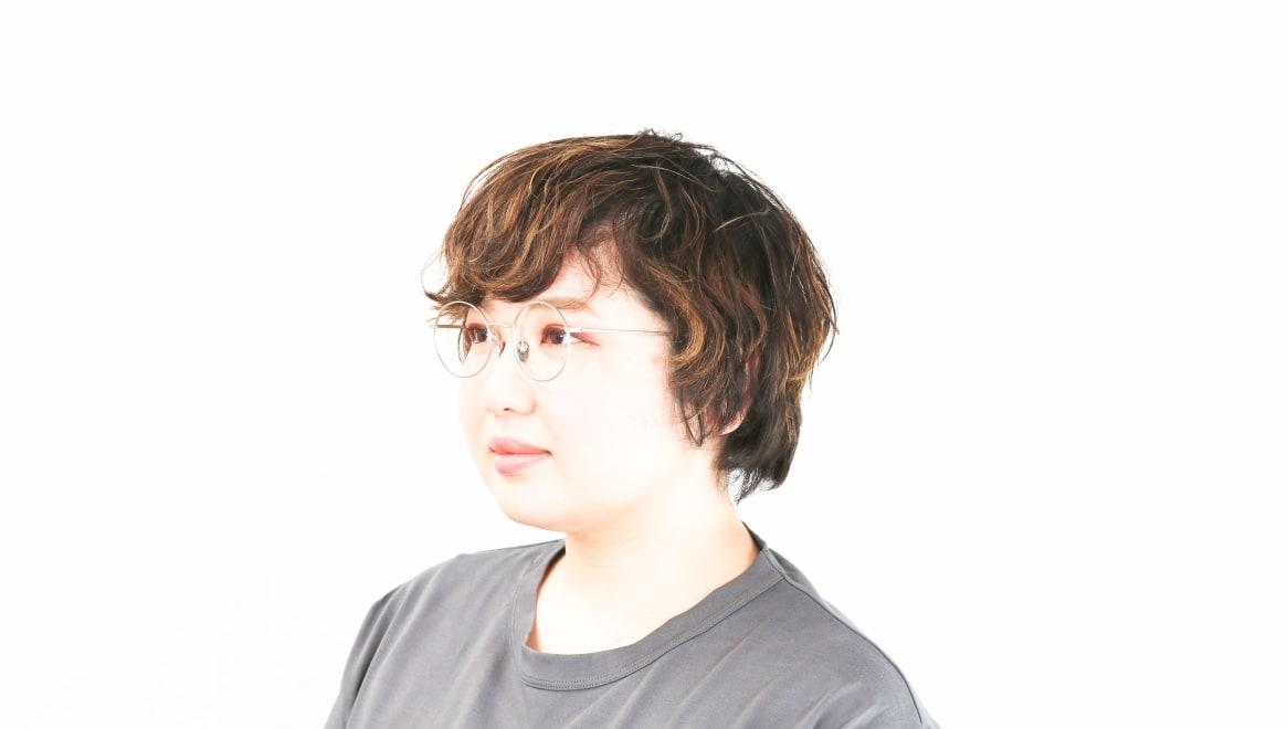 Oh My Glasses TOKYO Neal2 omg-111-SV-47 [メタル/鯖江産/丸メガネ/シルバー]  8