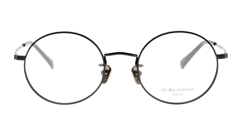 Oh My Glasses TOKYO Neal2 omg-111-MKB-47 [メタル/日本製/チタン/丸メガネ]