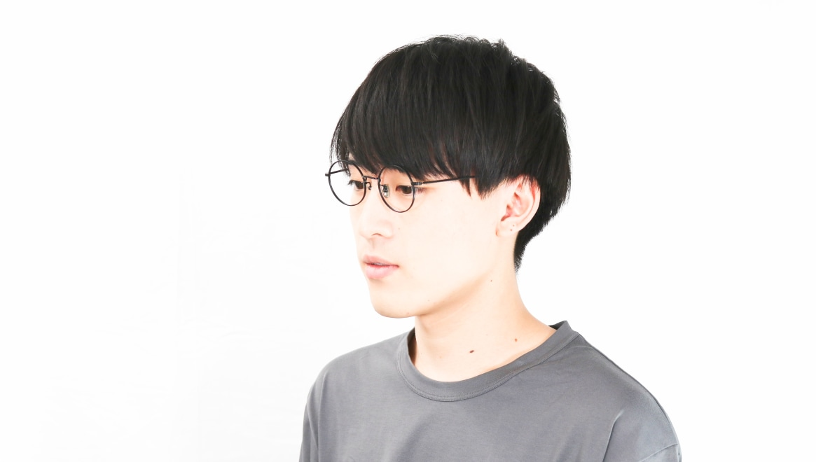 Oh My Glasses TOKYO Neal2 omg-111-MBK-47 [メタル/鯖江産/丸メガネ]  6
