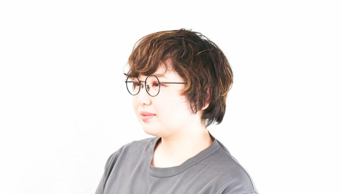 Oh My Glasses TOKYO Neal2 omg-111-MBK-47 [メタル/鯖江産/丸メガネ]  8
