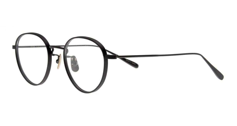 Oh My Glasses TOKYO Lester omg-107-MBK-47 [メタル/日本製・鯖江産/チタン/丸メガネ]  1