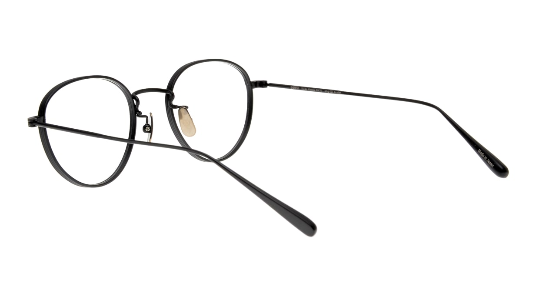 Oh My Glasses TOKYO Lester omg-107-MBK-47 [メタル/日本製・鯖江産/チタン/丸メガネ]  3