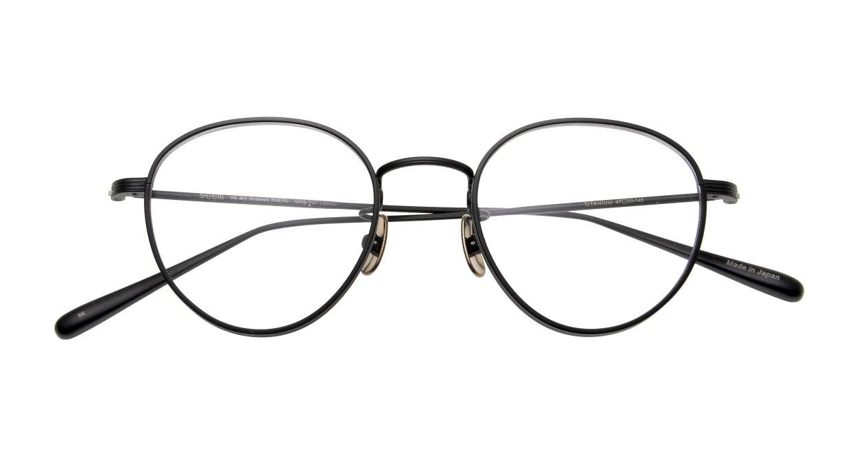 Oh My Glasses TOKYO Lester omg-107-MBK-47 [メタル/日本製・鯖江産/チタン/丸メガネ]  4