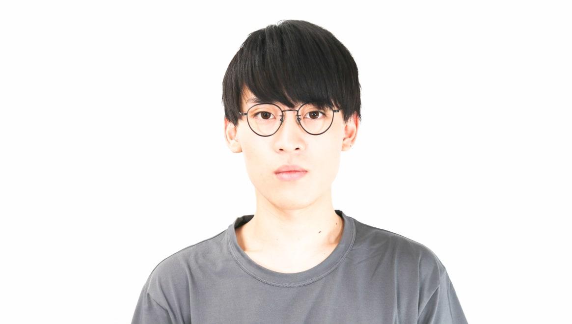 seem Oh My Glasses TOKYO Lester omg-107-MBK-47 [メタル/鯖江産/丸メガネ]  5
