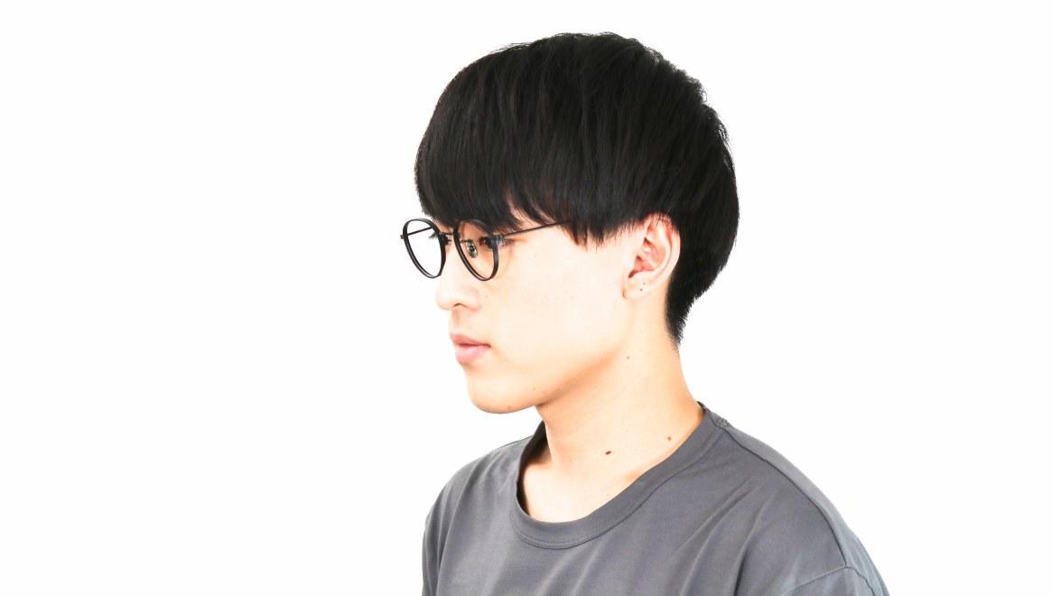 seem Oh My Glasses TOKYO Lester omg-107-MBK-47 [メタル/鯖江産/丸メガネ]  6