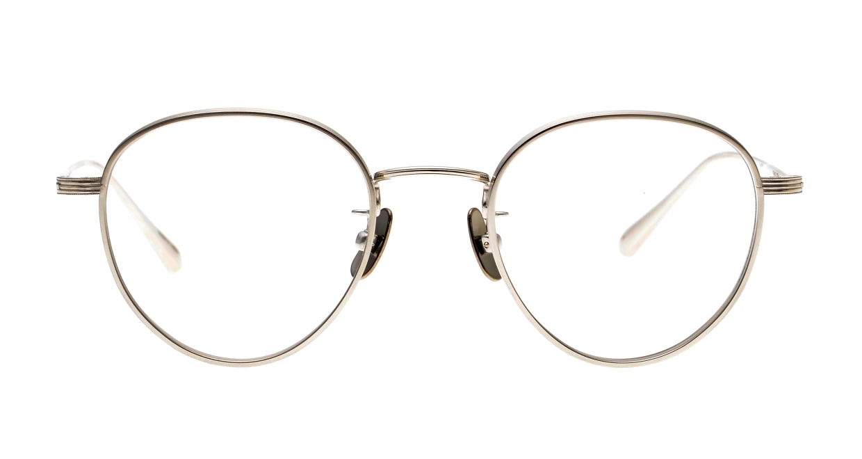 seem Oh My Glasses TOKYO Lester omg-107-SV-47 [メタル/鯖江産/丸メガネ/シルバー]