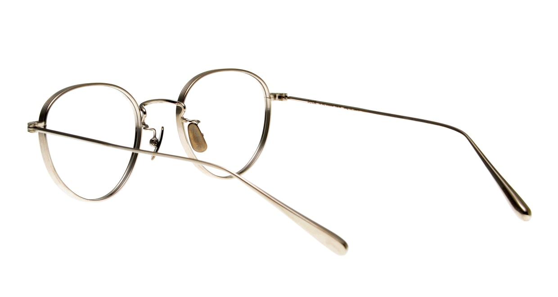 seem Oh My Glasses TOKYO Lester omg-107-SV-47 [メタル/鯖江産/丸メガネ/シルバー]  3