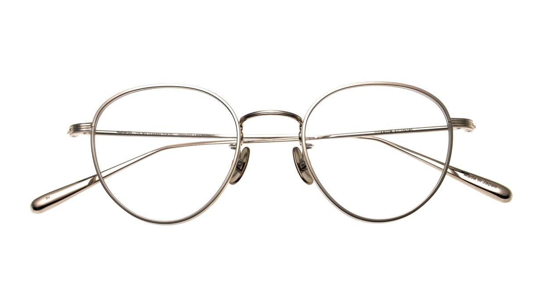 seem Oh My Glasses TOKYO Lester omg-107-SV-47 [メタル/鯖江産/丸メガネ/シルバー]  4