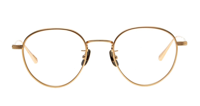 seem Oh My Glasses TOKYO Lester omg-107-GD-47 [メタル/鯖江産/丸メガネ/ゴールド]