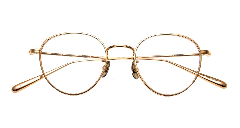 seem Oh My Glasses TOKYO Lester omg-107-GD-47 [メタル/鯖江産/丸メガネ/ゴールド]  4