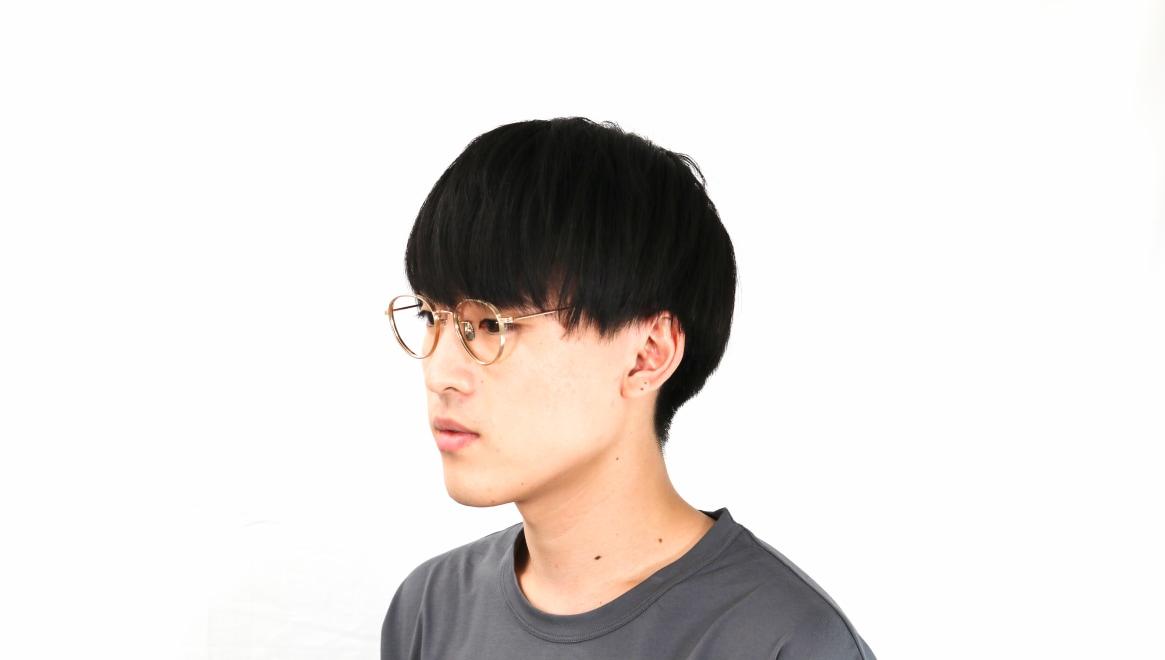 seem Oh My Glasses TOKYO Lester omg-107-GD-47 [メタル/鯖江産/丸メガネ/ゴールド]  6
