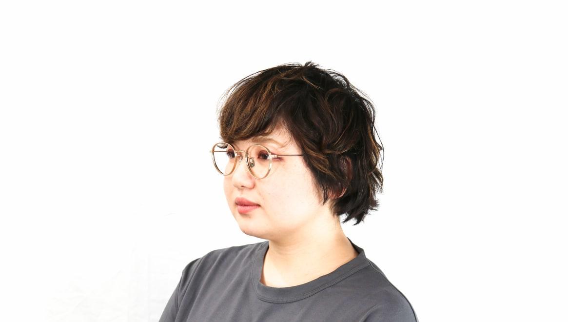 seem Oh My Glasses TOKYO Lester omg-107-GD-47 [メタル/鯖江産/丸メガネ/ゴールド]  8