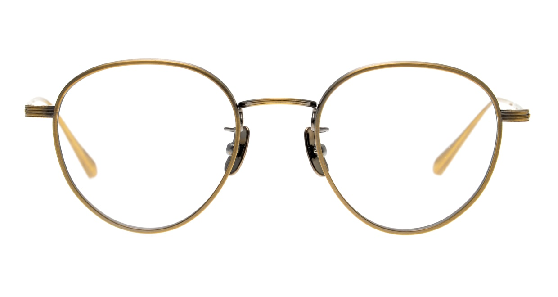 seem Oh My Glasses TOKYO Lester omg-107-ATG-47 [メタル/鯖江産/丸メガネ/ゴールド]