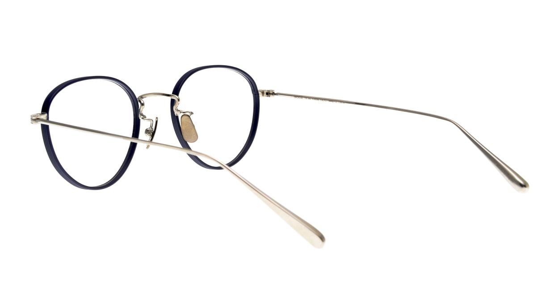 seem Oh My Glasses TOKYO Lester omg-107-NV-47 [メタル/鯖江産/丸メガネ/青]  3
