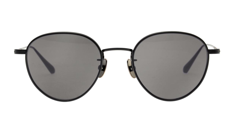 seem Oh My Glasses TOKYO Lester omg-107-MBK-49-sun [メタル/鯖江産/ボストン]